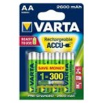 "Acumulatori Varta AA 2600 mAh blister 4 buc ""Ready to use"""
