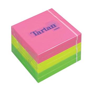 Notite adezive 3M Tartan cub neon 76mm x 76mm