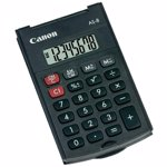 Calculator de birou Canon AS-8 (Negru)