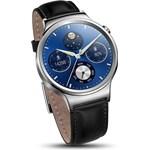 Smartwatch Huawei W1 Otel Inoxidabil Bratara Piele Neagra 55020640