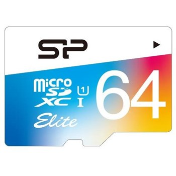 Card de Memorie Silicon Power Elite MicroSDXC 64GB UHS-1 85MBs + Adaptor sp064gbstxbu1v20sp