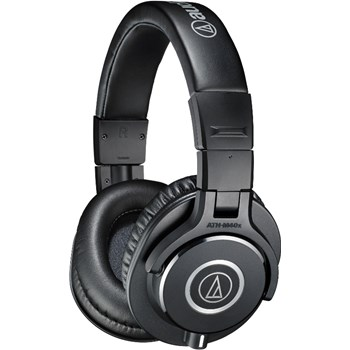 Casti audio tip Dj Audio-Technica ATH-M40x, Negru