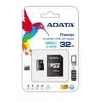 MicroSDHC Ultra-High Speed + adaptor SD, 32GB, scriere/citire aleatoriu: 1400 /100 (IOPs), ideal sm