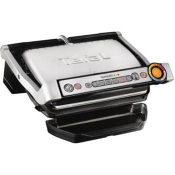 Grătar electric TEFAL OptiGrill+ GC712D34, 2000 W, Termostat reglabil, Inox