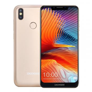 Telefon mobil DOOGEE BL5500 Lite, 4G, IPS 6.19 , 2GB RAM, 16GB ROM, Android 8.1, MT6739WA QuadCore, 5500mAh, Dual SIM, Gold