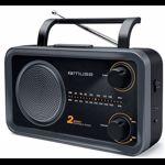 Radio portabil Muse M-06 DS FM-MW Negru mse00147