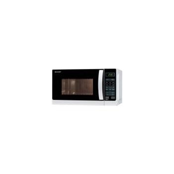 Cuptor cu microunde Sharp R642WE, 20 l, 800 W, Grill, Digital, Alb