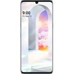 Smartphone LG Velvet, 5G Edition, ecran P-OLED de 6.8 inch, Octa Core, 128GB, 6GB RAM, Single SIM, 4-Camere, Aurora White