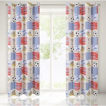 Draperie pentru copii Magnus 140 x 250 cm 1 bucata Multicolor