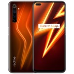 Smartphone Realme 6 Pro, Ecran IPS LCD cu rezolutie FHD+, Snapdragon 720G 2.3 GHz, Octa Core, 128GB, 8GB RAM, Dual SIM, 4G, 6-Camere: 64 mpx + 16 mpx + 12 mpx + 8 mpx + 8 mpx + 2 mpx, Android 10, Lighting Red
