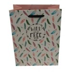 Punga medie pentru cadouri - Wild and free
