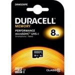 Card de Memorie Duracell MicroSDHC 8GB Clasa 10 80MB/s UHS-I U1 DRMSD8PE