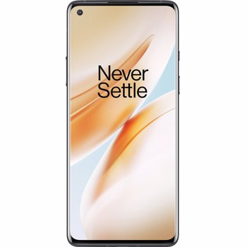 "Telefon Mobil OnePlus 8, Procesor Snapdragon 865 Octa-Core, Fluid AMOLED Capacitive Touchscreen 6.55"", 8GB RAM, 128GB Flash, Camera Tripla 48MP + 16MP + 2MP, Wi-Fi, 5G, Dual Sim, Android (Negru)"
