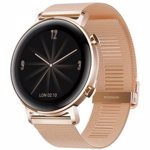 Smartwatch HUAWEI Watch GT 2 42mm, Android/iOS, Metal Strap, Elegant Edition, Refined Gold