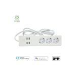 Prelungitor Smart WiFi Woox R4028 3 prize 4x USB 1.8m extswf-3s1.8m/usb4-r4028-woox