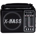 Radio portabil aspect retro 3 benzi port USB SD MP3 lanterna xb1091g