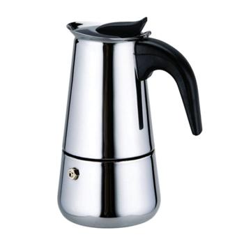 Espressor cafea din inox Bohmann 100ml capacitate maxima 2 cupe BH 9502