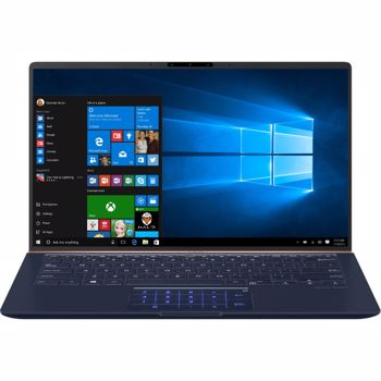 Ultrabook ASUS 14'' ZenBook UX433FLC, FHD Touch, Procesor Intel® Core™ i7-10510U (8M Cache, up to 4.90 GHz), 16GB, 1TB SSD, GeForce MX250 2GB, Win 10 Pro, Royal Blue