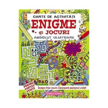 Carte de activitati: Enigme si jocuri absolut uluitoare 628960