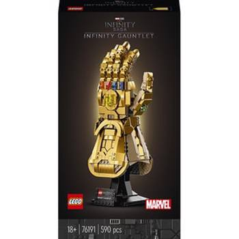 LEGO Super Heroes - Marvel - Manusa Infinitului 76191 590 piese