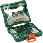 Bosch Set 43 accesorii X-line, biti, adaptor, chei tubulare, suport universal, zencuitor, burghie