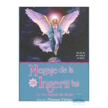 Mesaje de la ingerii tai - Set de 44 de carti si un ghid - Doreen Virtue 973-88592-7-2