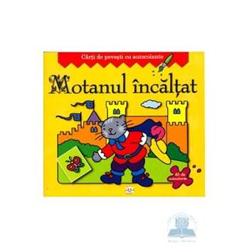Motanul Incaltat - Carti de povesti cu autocolante