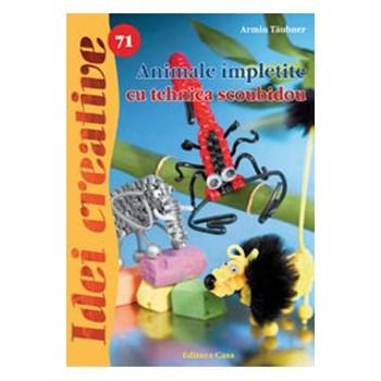 Idei creative 71 - Animale impletite cu tehnica scoubidou - Armin Taubner 624241