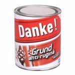 Grund metal anti-rugina Danke, interior/exterior, rosu oxid 0.7L