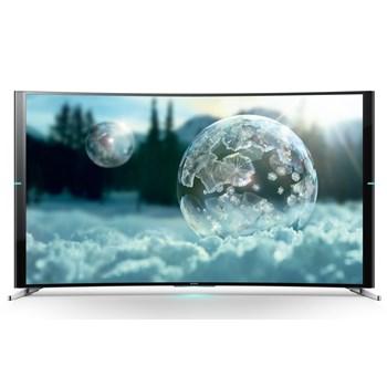 Televizor curbat, Smart LED 3D, Sony 65S9005B 165 cm, Ultra HD 4K