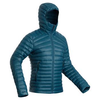 Geacă cu umplutură din puf Trekking la Munte Trek100 -5°C Bărbați FORCLAZ