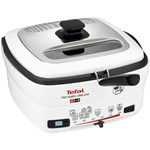 Multicooker 9 in 1 Tefal Versalio Deluxe FR495070 1600 W 1 kg Bol detasabil AlbNegru fr495070