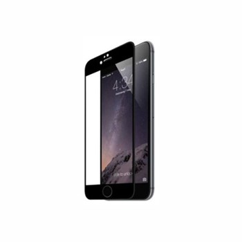 Tempered Glass - Ultra Smart Protection iPhone 6/6S Plus fulldisplay negru,folie protectie fullscreen 3D din sticla securizata 0.3 mm +instructiuni si kit instalare incluse,duritate antisoc 9H