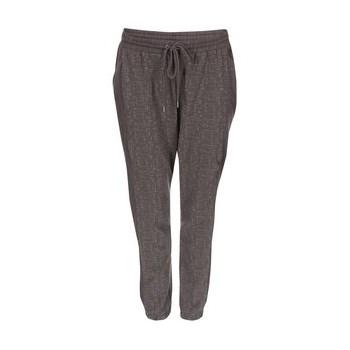 Pantaloni de trening Sparkle VERO MODA imprimat - gri inchis