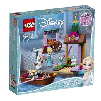 LEGO Disney Princess, Aventura Elsei la piata 41155, 5-12 ani
