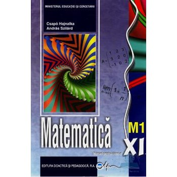 Matematica Cls 11 M1 - Csapo Hajnalka, Andras Szilard
