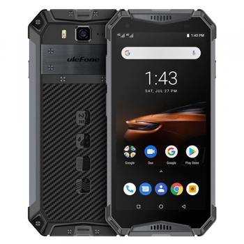 Telefon mobil Ulefone Armor 3W, IPS 5.7 , Android 9, 6GB RAM, 64GB ROM, MediaTek Helio P70, ARM Mali-G72 MP3, Octa-Core, Dual-SIM, 10300mAh