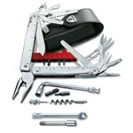 Victorinox Unealta multifunctionala 3.0339.N CS Plus cu Teaca de plastic