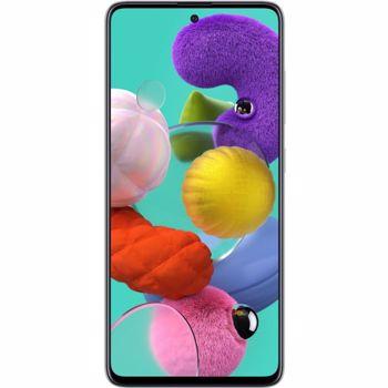 Telefon mobil Samsung Galaxy A51, Dual SIM, 128GB, 4GB RAM, 4G, Prism Crush White