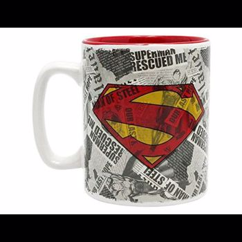 Cana DC COMICS - 460 ml - Superman & logo - ABYMUG164