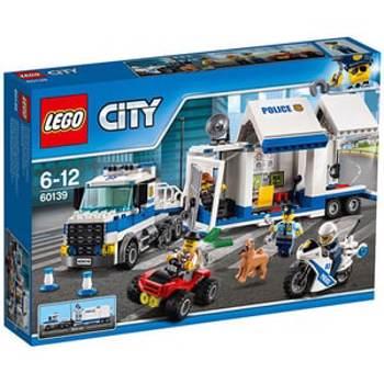 LEGO® City / LEGO® City Police - Centru de comanda mobil (60139)