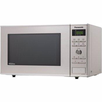 Cuptor cu microunde Panasonic NN-GD36HMSUG 23 l 1000 W Digital Grill Accesoriu Steam+ Inverter Argintiu