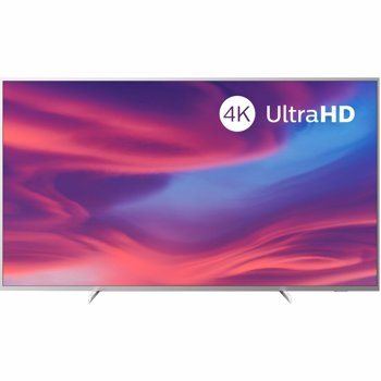 Televizor LED Philips 177 cm, 70PUS7304/12, Ultra HD 4K, Smart TV, Ambilight, WiFi, CI+, Argintiu