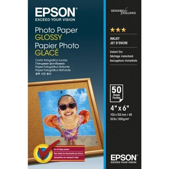 Hartie foto Epson Photo Paper Glossy 10x15cm 50 sheet c13s042547