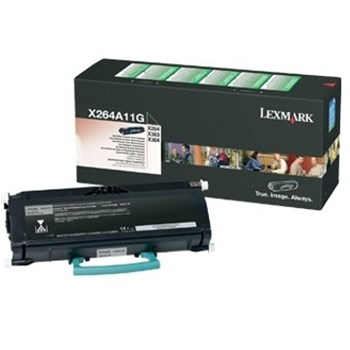 Toner Lexmark X264 X363 X364 Return Cartridge 3.5K x264a11g