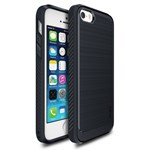 Ringke Protectie pentru spate Onyx Midnight Navy pentru iPhone 5/5S/SE + folie protectie Ringke