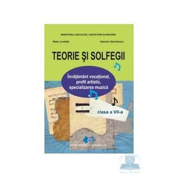 Teorie si solfegii - Clasa 7 - Manual - Matei Jurebita, Valentin Gabrielescu