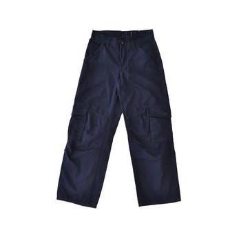 Pantaloni bleumarin din bumbac