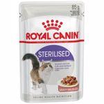 Hrana umeda pentru pisici Royal Canin, Sterilised, in sos, 12x85g