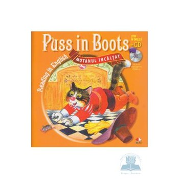 Puss in Boots (Motanul incălţat) - Carte + CD